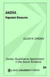 ANOVA: Repeated measures - book cover